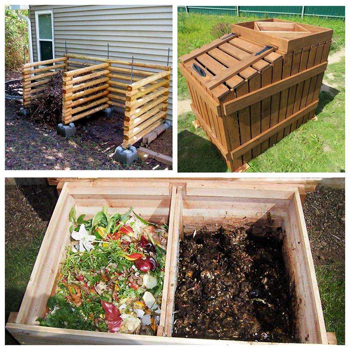 Komposterio įrengimas sode