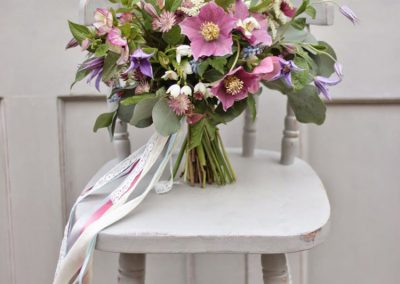 Gėlės eleborai vestuvėms