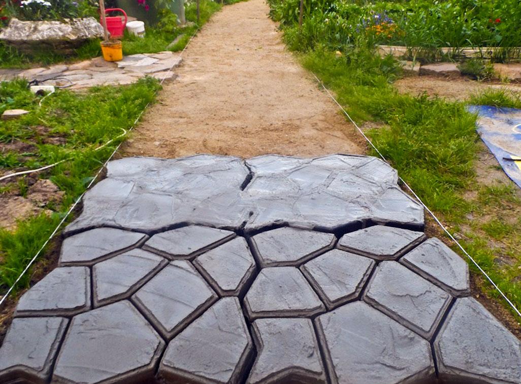 Kiemo takelių betonavimas